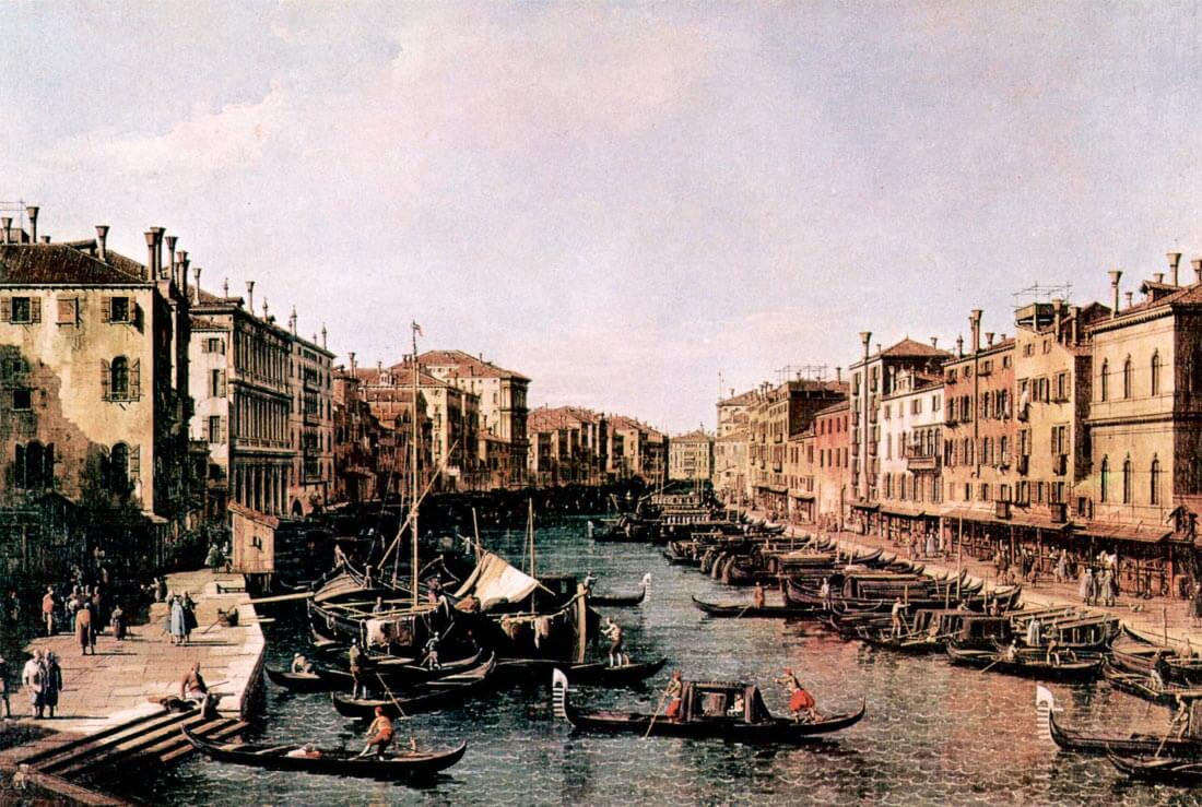 Grand Canal [2] - Canaletto